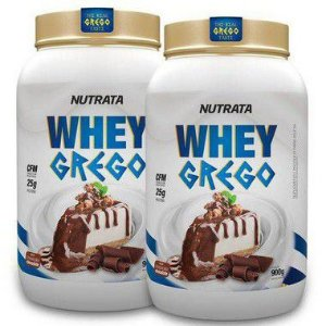 COMBO 2X WHEY GREGO 900 GR - NUTRATA