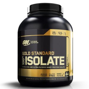 GOLD STANDARD 100% ISOLATE 1.36 KG - OPTIMUM NUTRITION (venc 11/2020)