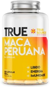 TRUE SOURCE MACA PERUANA 60 CÁPSULAS