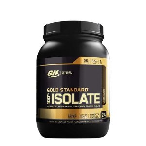 100% GOLD STANDARD ISOLATE 1.58 LIBRAS - OPTIMUM NUTRITION