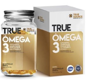 OMEGA 3 1000 MG (60 CAPSULAS)- TRUE SOURCE