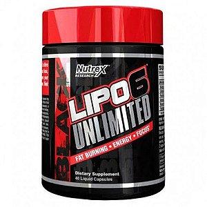LIPO-6-ULIMITED 40 CAPSULAS - NUTREX