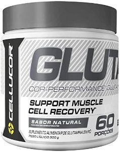 GLUTAMINA SABOR NATURAL CELLUCOR 6 DOSES - NACIONAL
