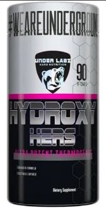 HYDROXY HERS 90 CÁPSULAS - UNDER LABZ