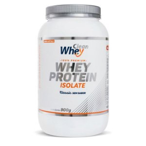 WHEY ISOLATE CLASSIC 900 GR - CLEAN WHEY (SEM SABOR)