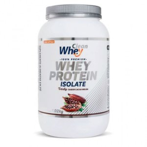 WHEY PROTEIN ISOLATE TASTY CACAU BELGA 900 GR - CLEAN WHEY