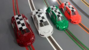 4 Carros 1/24 - Stock Car