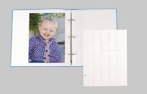 Refil de Álbum R6 para 20 fotos 15x21 cm para Álbum ferragem plástico texturizado