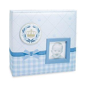 Álbum do Bebê – Capa em tecido para 100 fotos 15x21