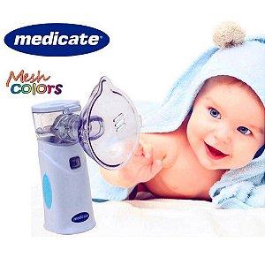 Inalador / Nebulizador Portátil Medicate - Mesh Colors 4500