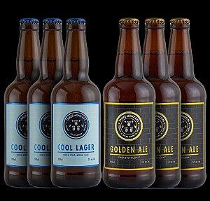 WELCOME BOX - 3un de Cool Lager e 3un de Golden Ale