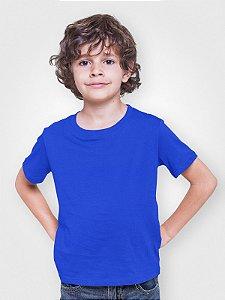 Camiseta Infantil Menino Meia Manga Azul cmc1