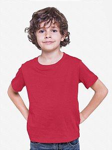Camiseta Infantil Menino Meia Manga Vermelho cmc1