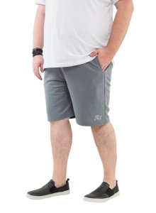 Bermuda Masculina com Bolso Plus Size Cinza chumbo Wb-bma6