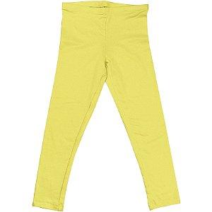 Calça Legging Infantil Menina Amarelo lgi8