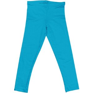 Calça Legging Infantil Menina Azul Claro lgi8
