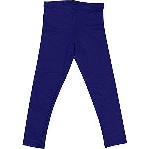 Calça Legging Infantil Menina Azul Escuro lgi8