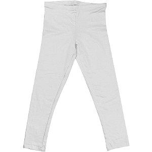 Calça Legging Infantil Menina Branco lgi8