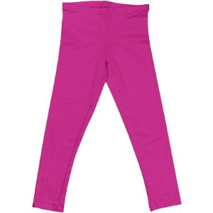 Calça Legging Infantil Menina Rosa Escuro lgi8