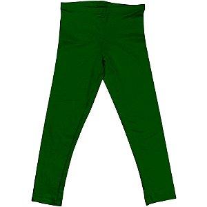 Calça Legging Infantil Menina Verde Escuro lgi8