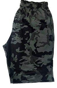 Bermuda Moletom Masculina Plus Size Tam Grandes Camuflada bma4