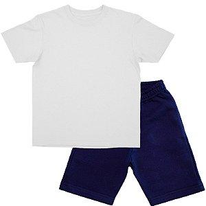 Kit Bermuda + Camiseta Manga Curta Infantil Menino cjr2