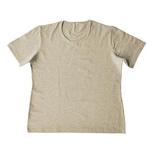 Blusa Feminina Plus Size Algodão Perola Mescla bfp2