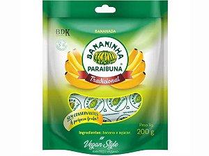 Bananinha com Açúcar Pacote 200g