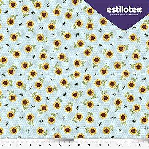 Tecido de Algodão Girassol 1,40 m x 50 cm Estilotex