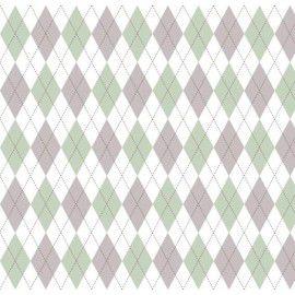 Tecido 100% Algodão Trapézio Verde 1,40m x 50cm - Caldeira