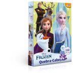 Quebra Cabeça Frozen 100 Peças 8027 Toyster