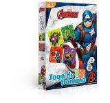 Dominó Avengers 28 Peças 8037 Toyster