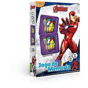 Jogo da Memória Avengers 24 Pares 8038 Toyster