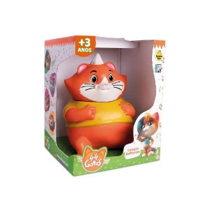 Boneco Vinil 44 Gatos Almondega 1023 Samba Toys
