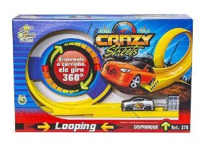 Pista Looping Crazy Streets 370 Bs Toys