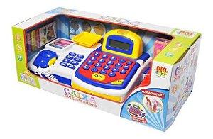 Caixa Registradora infantil DMT3816 Dm Toys
