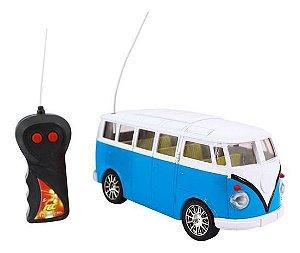 Carro Controle Remoto Kombi DMT3765 Dm Toys