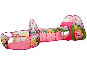 Barraca Princesas 3 em 1 DMT5880 Dm Toys