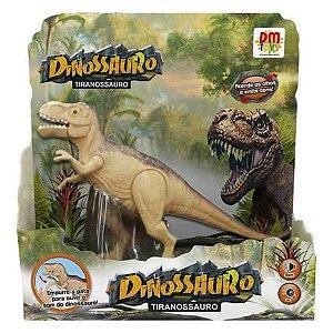 Dinossauro Tiranossauro com Som e Luz DMT5933 Dm Toys