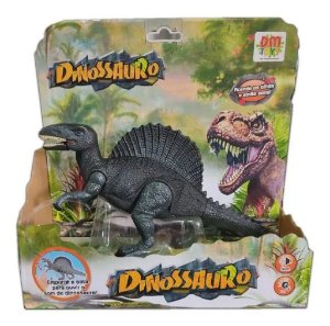 Dinossauro Espinossauro com Som e Luz DMT5934 Dm Toys