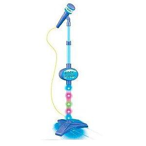 Microfone Infantil com Pedestal Rock Show DMT5897 Dm Toys