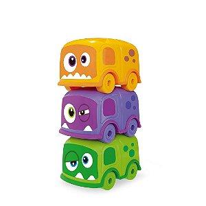 Carro Monster Bus Trio Ludi Club 510 Usual