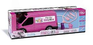 Van Pink Pet Shop com Acessórios 4705 OMG