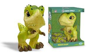 Boneco Jurassic World Dinos Baby T-Rex 1460 Pupee
