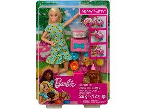 Barbie Festa Filhote Cachorro com Acessórios GXV75 Mattel