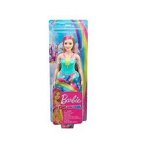 Barbie Dreamtopia Princesa Mechas GJK12 Mattel