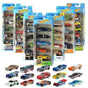 Hot Wheels conjunto com 5 01806 Mattel
