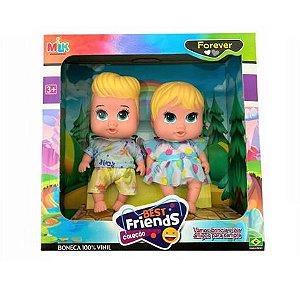 Boneca Coleção Best Friends Forever Gêmeos 566 Milk