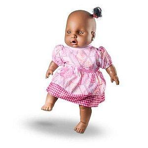 Boneca Bebê Judy Negra 469 Milk