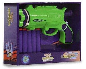 Lançador de Dardos Hora da Disputa LD1818-2 Unik Toys